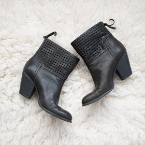 Nine West Hippy Chic Leather Booties